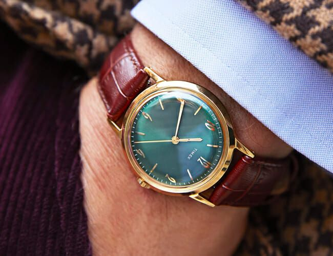 One of Our Favorite Affordable Mechanical Watches Is Back in Green