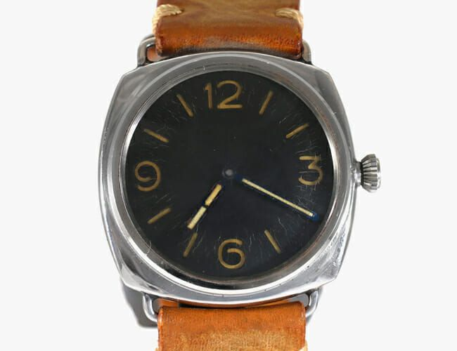 This World War II-Era, Military Panerai Dive Watch Is Up for Sale
