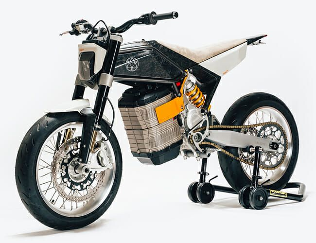 Prepare to Lust Uncontrollably Over This Stunning Custom Electric Motorcycle