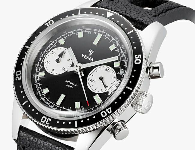 This Wearable, Affordable New Chronograph Watch Packs a Seiko Automatic Movement