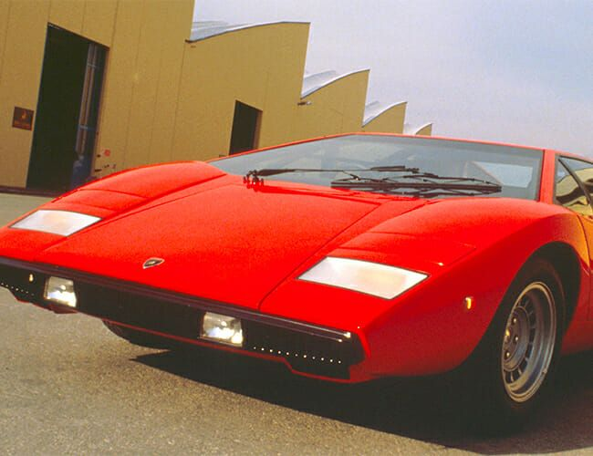 Lamborghini's First One-Off Customer Car May Be an Homage to the Iconic Countach