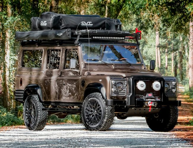 Is This Vintage Land Rover Defender the Ultimate Overlanding Rig?