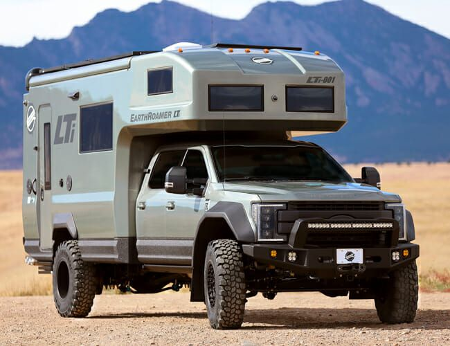 Carbon Fiber Construction Makes This Rig the Ultimate Overlanding RV