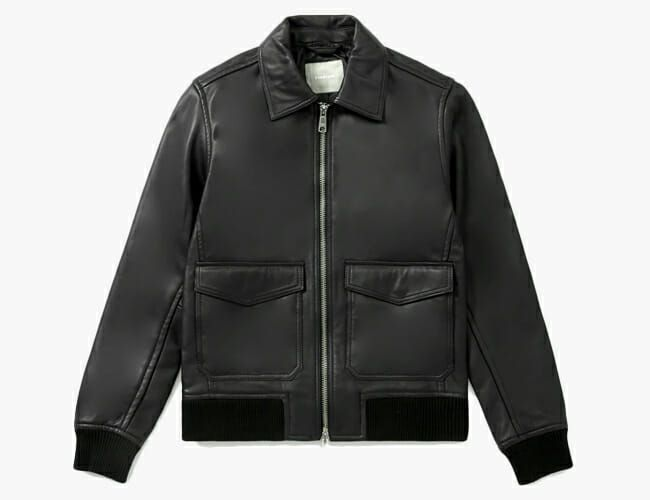 This Great Leather Jacket Is Practically a Steal