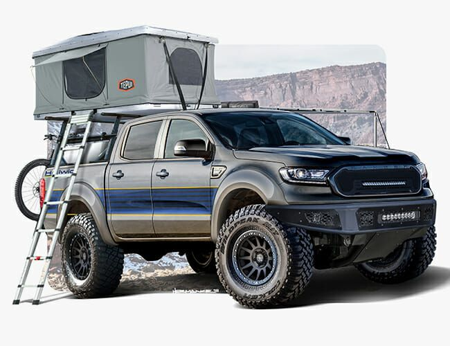 Ford's Overlanding Ranger Concepts Will Make You Forget the Ranger Raptor