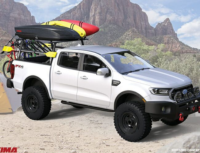Check Out These Ford Ranger Overlanding Concepts Gear Patrol