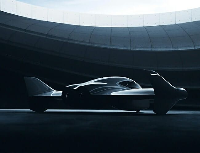 Porsche Is Working on an Actual Flying Sports Car