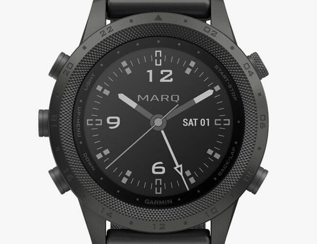 This Blacked-Out Tactical Smartwatch Is Probably What a Real James Bond Would Wear