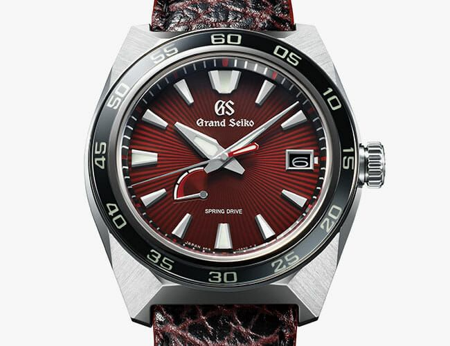 This New Grand Seiko Watch Features an Unlikely Inspiration