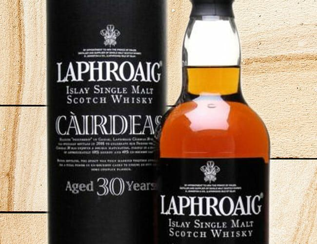 This Hard-to-Find Laphroaig Scotch Whisky Is a Campfire in Your Mouth
