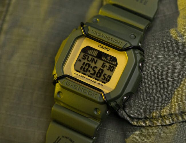 Casio and Herschel Collaborated on this Military-Inspired G-Shock Watch
