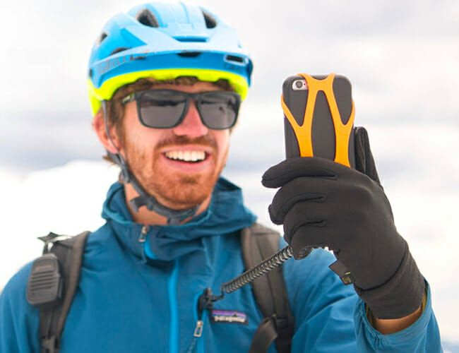This Handy Gadget Erases the Nagging Fear of Dropping Your Phone Off a Ski Lift