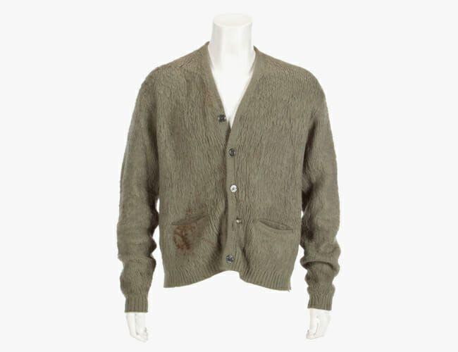 You Can Buy Kurt Cobain's MTV Unplugged Cardigan