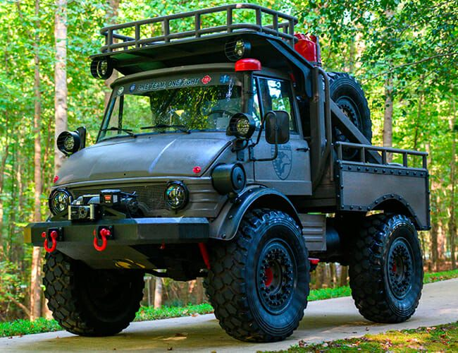 Here's Your Chance to Own the Ultimate Off-Road Truck