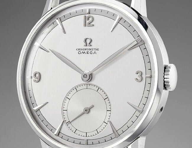Why Did This Understated Omega Watch from 1947 Sell for Almost $1.5 Million?