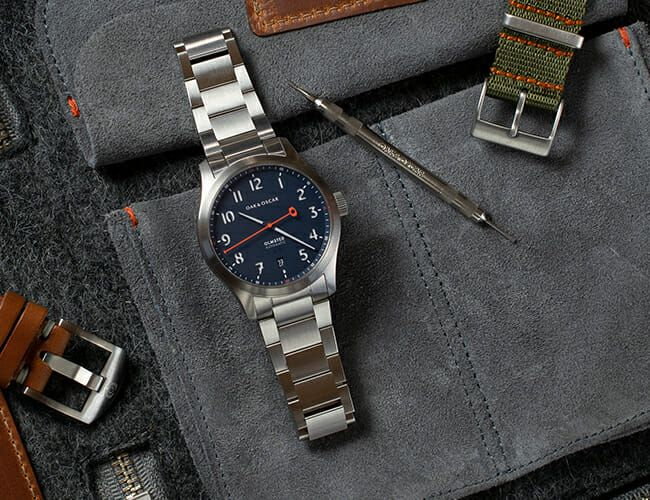 This American Brand's New Automatic Field Watch Is a Tribute to Its Hometown