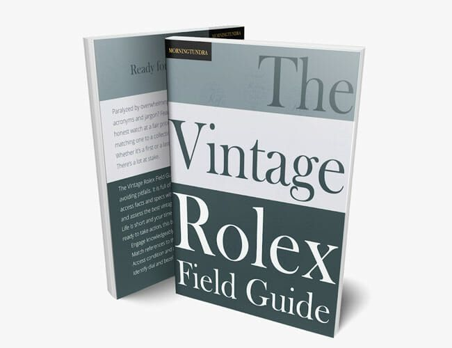 If You Love Vintage Rolex Watches, You Need This Book