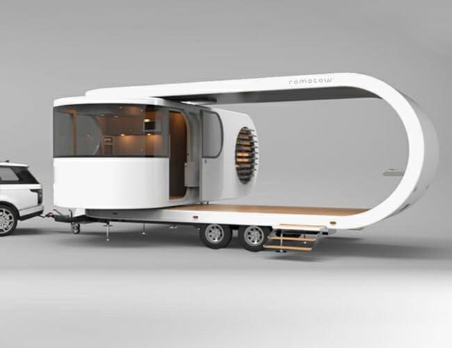 Yes, You Really Can Buy This Futuristic Superyacht of Camping Trailers