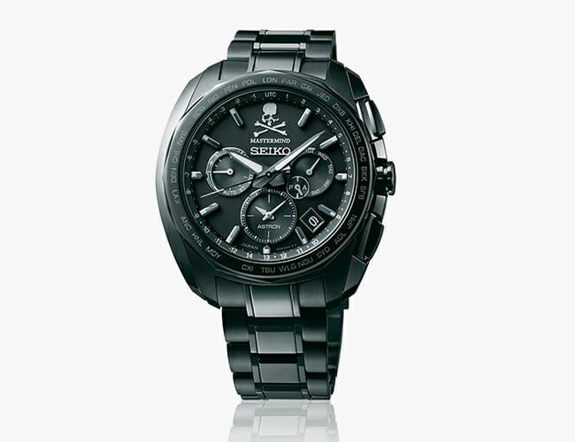 Seiko Collaborated with a Japanese Fashion Brand on this Badass Chronograph