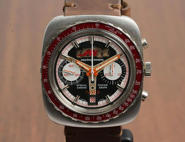 These Affordable Vintage Watches Will Delight Motorsport Fans