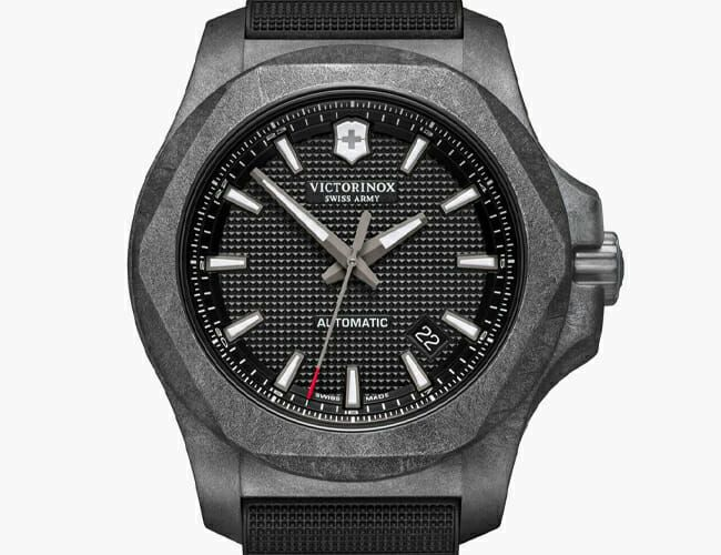 This Rugged Carbon Watch Now Features a Swiss Automatic Movement