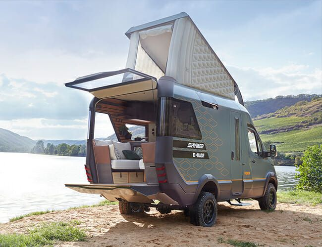 This High-Tech, Off-Road Camper Van Is the Future of #VanLife