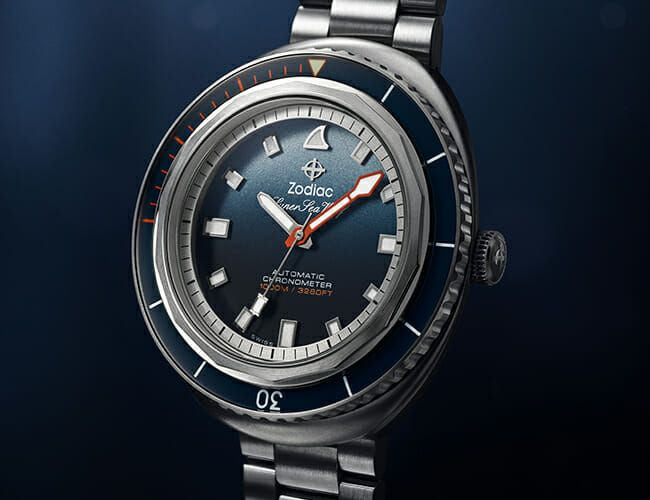 This Dive Watch Was Designed by a National Geographic Shark Photographer