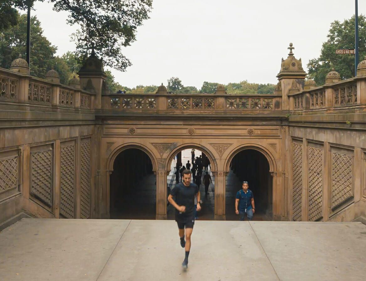 Experience Running in New York in Just Three Minutes