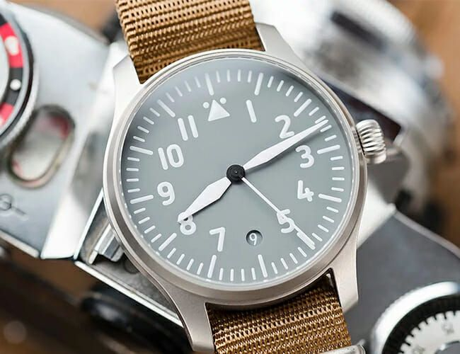 This Affordable German Pilot Watch Is a Stylish Take on a Classic