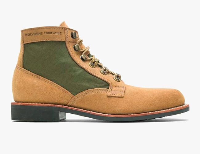 These Limited-Edition Wolverine Boots Are Made with Repurposed Military Tents
