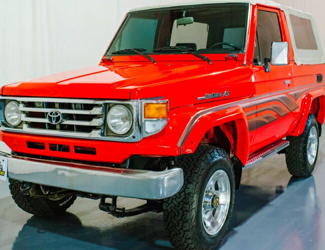 The Forbidden Toyota Land Cruiser of Your Dreams Just Came Up for Auction