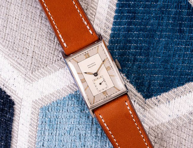 3 Affordable Vintage Alternatives to the Classic Cartier Tank Watch