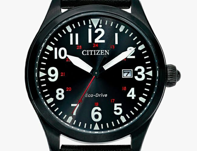 Take 32% Off This Blacked-Out Pilot's Watch