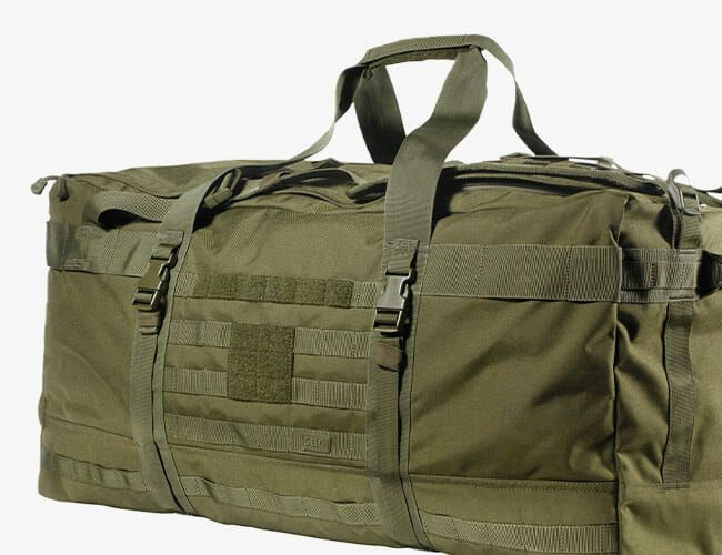 This Tough Tactical Duffel Bag Can Haul More Gear Than You Possibly Own