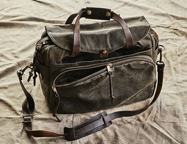 You Can Now Buy One-of-a-Kind Filson Bags. Don't Wait