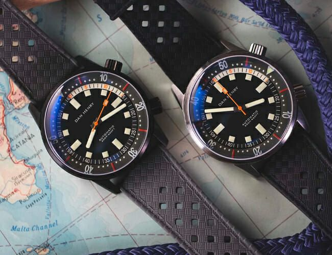 Get This Affordable Vintage-Styled Dive Watch While It Lasts