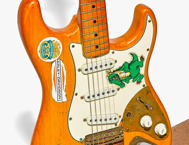 Jerry Garcia's Heavily Modified Fender Guitar Is Up for Sale