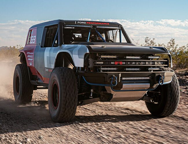 This Badass Race Truck Is Our First Real Look at the New Ford Bronco