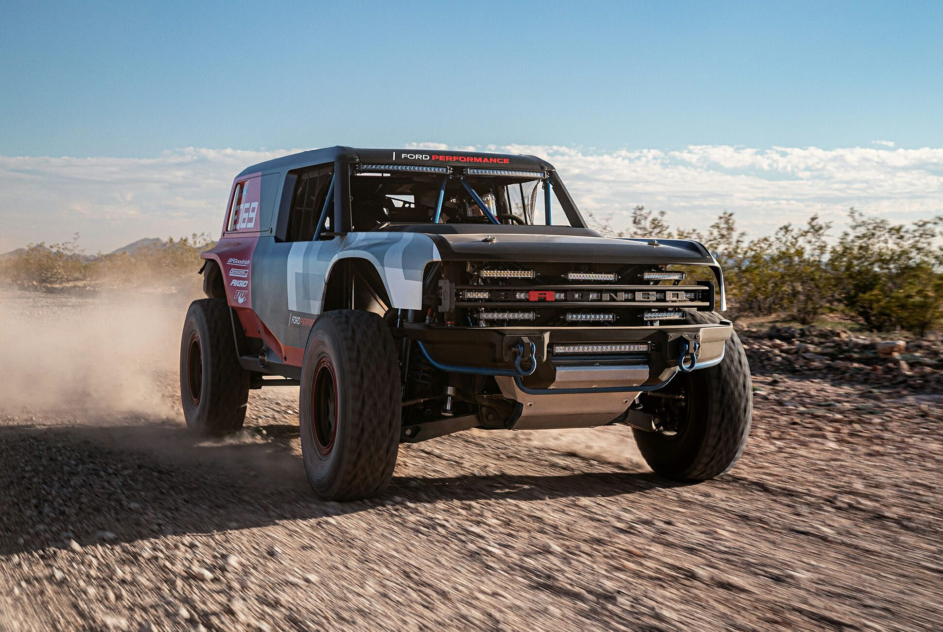 New Ford Bronco >> This Badass Race Truck Is Almost The All New Ford Bronco