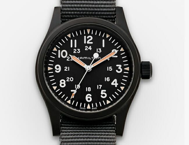 Get a Blacked-Out Version of One of Our Favorite Mechanical Watches