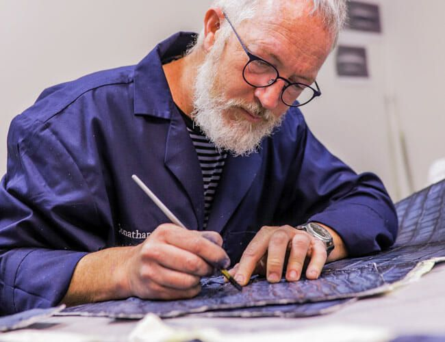 Icon 4×4's Jonathan Ward Keeps the Tradition of Hand-Dyed Leather Alive
