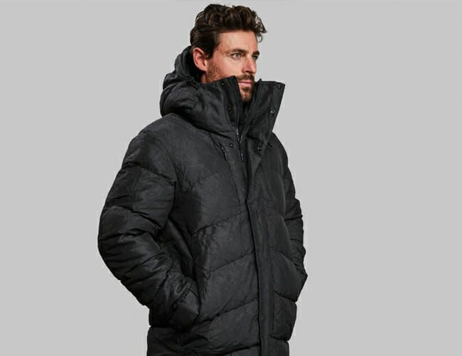This New Puffer Jacket Is Made of Material Originally Used to Stop AK-47 Bullets