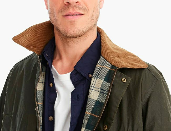 Barbour Took an Archival J.Crew Jacket and Made It Better