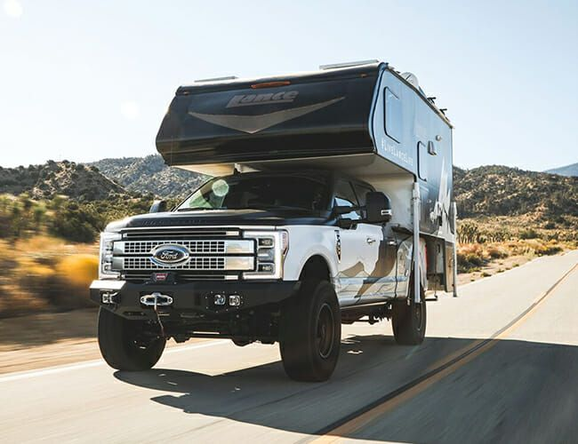This Jacked-Up Ford Super Duty Is the Ultimate Overlander