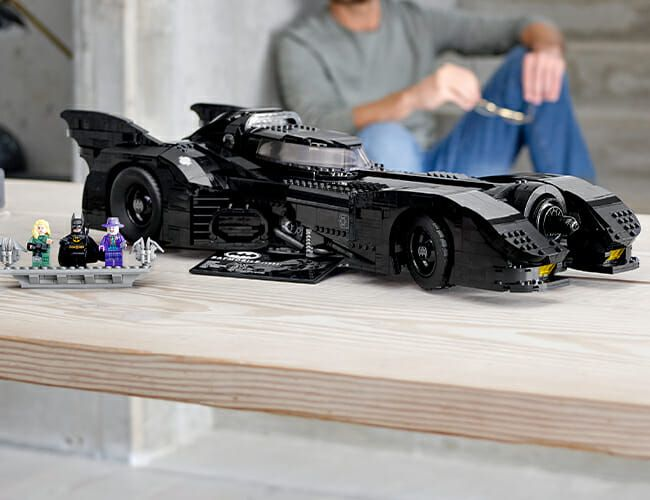 The Best Batmobile in Franchise History Just Got an Epic LEGO Treatment