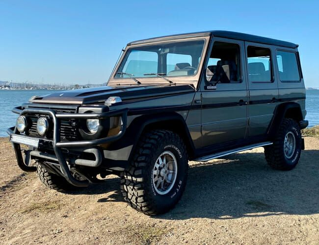 Could This Mercedes G-Wagen Be Your Vintage Off-Roader for Less?