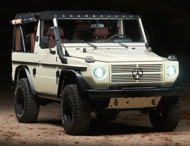 This Exquisite Restored Mercedes G-Wagen Is Cheap Next to a Bronco or Defender