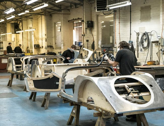 Even Today, Morgan Motor Company Is Still Building Cars Out of Wood