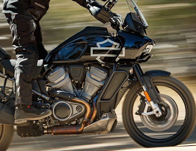 An American Motorcycle Icon Is Finally Making Adventure Bikes