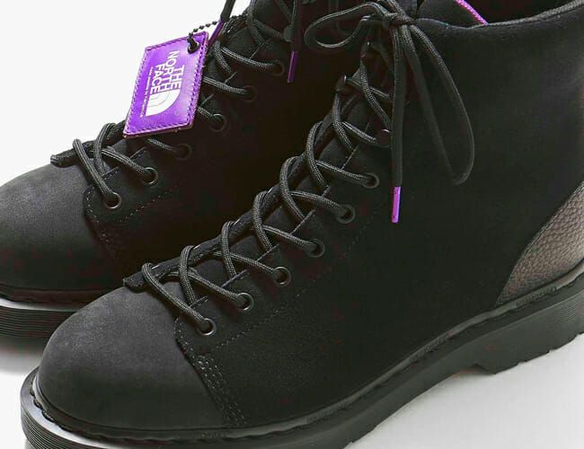 Dr. Martens and The North Face Purple Label Just Released These Vintage-Inspired Boots